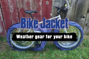 Bike Jacket is the best weather gear for your fat tire or mountain bike.