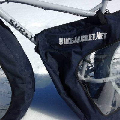 Navy Blue Bike Jacket